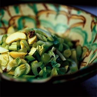risalamande af frossen risengrød